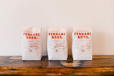Ferrari Bros Coffee Blend coffee Mom 'n 'em Coffee & Wine Cincinnati Natural Wine and Coffee Shop