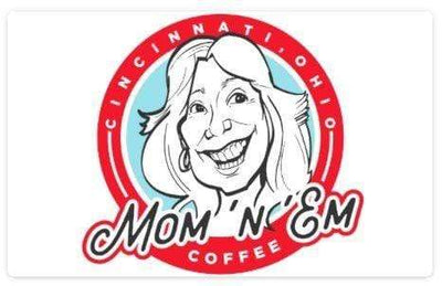 Gift Card Merchandise 25.00 Mom 'n 'em Coffee & Wine Cincinnati Natural Wine and Coffee Shop
