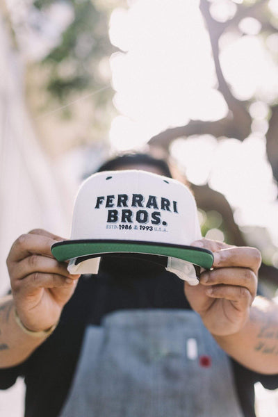 Ferrari Bros Snapback Merchandise Mom 'n 'em Coffee & Wine Cincinnati Natural Wine and Coffee Shop