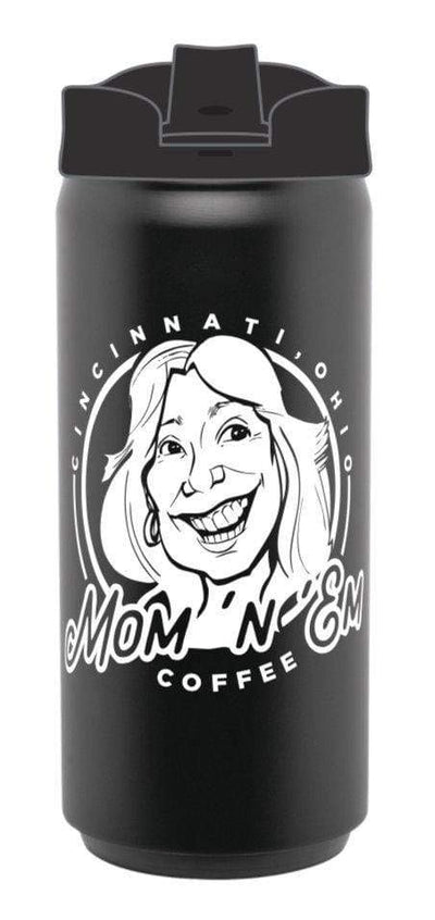 Mom 'n 'em Coffee Thermos Merchandise Mom 'n 'em Coffee & Wine Cincinnati Natural Wine and Coffee Shop