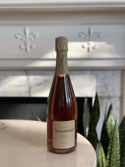 Mouzon-Leroux, 'L'incandescent' Rosé de Saignée Champagne Mom 'n 'em Coffee & Wine Cincinnati Natural Wine and Coffee Shop