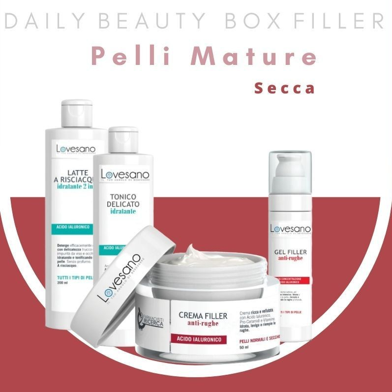 LOVESANO DAILY BEAUTY BOX FILLER PELLI MATURE SECCHE