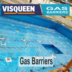 visqueen gas barriers