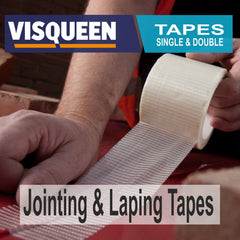 visqueen tapes for lapping and jointing including single sided and double sided