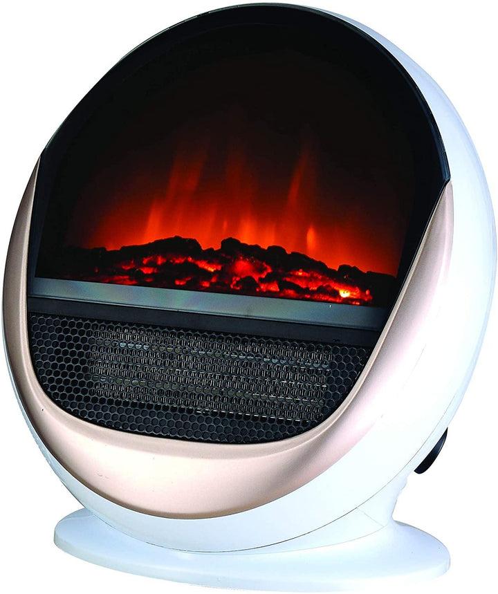 Kingavon 1.5KW White Oval Electric Heater - HomeFix