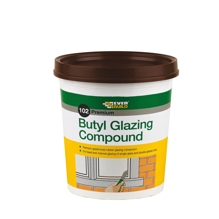 Everbuild 102 Butyl Glazing Compound - HomeFix