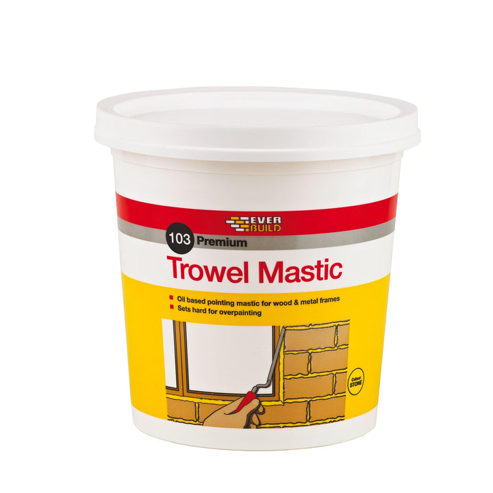 oil based trowel mastic