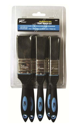 Blackspur No Bristle Loss Paint Brush Set - HomeFix