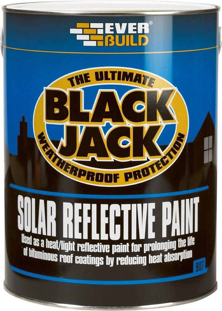 Solar reflective paint - heat and light reflective