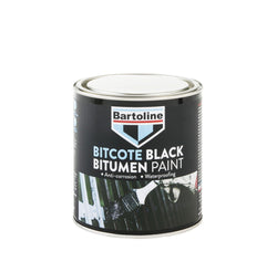Bartoline Bitcote Black Bitumen Paint - HomeFix