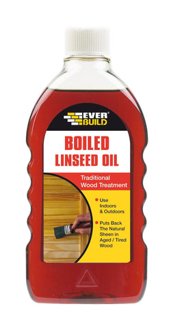 Everbuild Boiled Linseed Oil - HomeFix