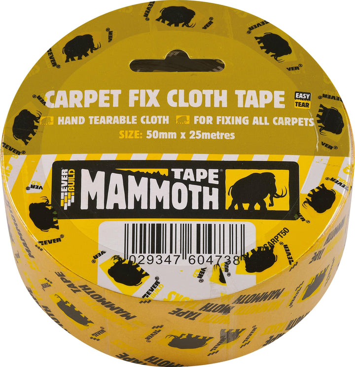 Everbuild Mammoth Carpet Fix Cloth Tape - HomeFix