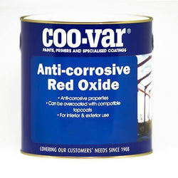 Coo-Var Anti-Corrosive Red Oxide - HomeFix