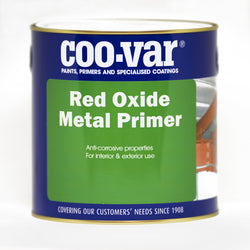 500ml Coo-var indoor and outdoor red oxide metal primer