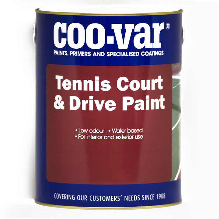 Coo-Var Tennis Court Paint - HomeFix