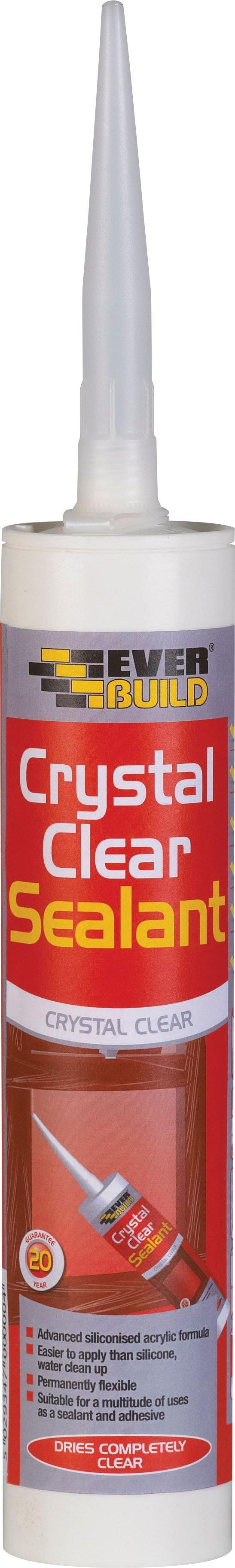 Everbuild Crystal Clear Sealant - HomeFix
