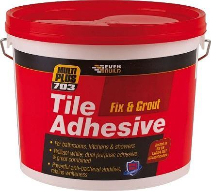 Everbuild 703 Fix & Grout Tile Adhesive - HomeFix