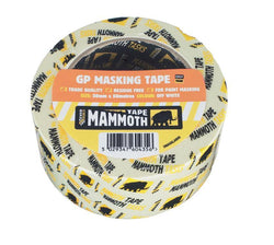 Easy tear masking tape with no residue