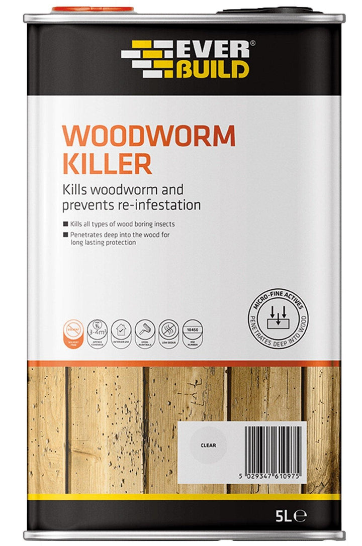 Everbuild Woodworm Killer - HomeFix