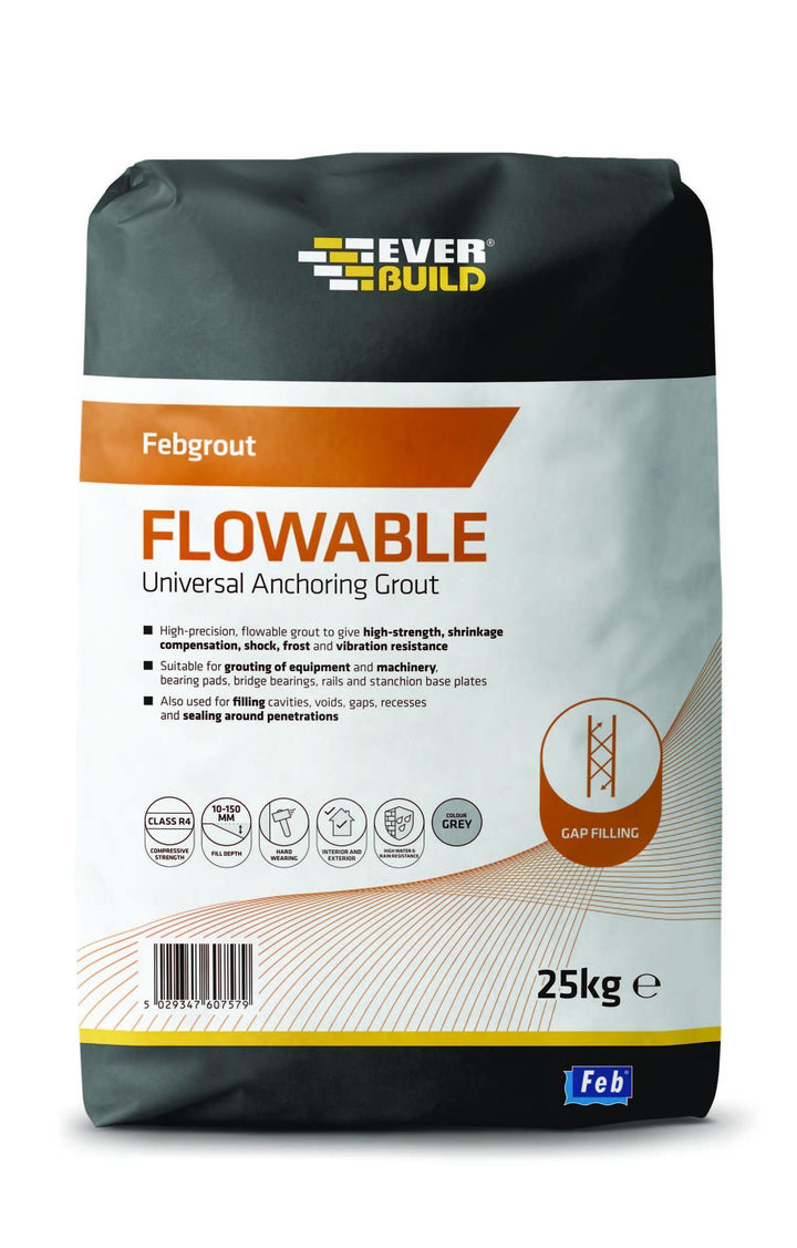 Everbuild Febgrout Flowable Universal Anchoring Grout - HomeFix
