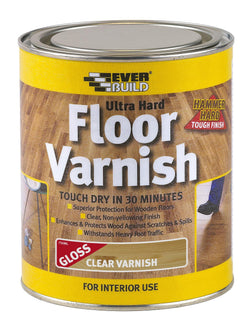Everbuild Ultra Hard Floor Varnish - HomeFix