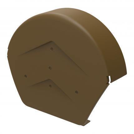 Manthorpe Round End Cap - HomeFix