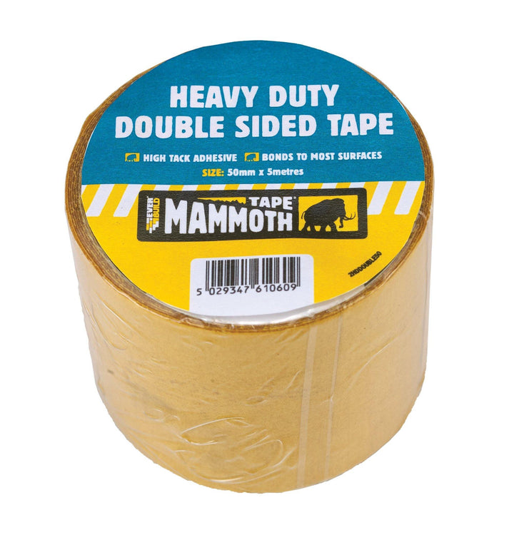 Everbuild Mammoth Heavy Duty Double Sided Tape - HomeFix