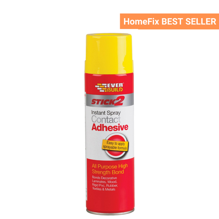 Everbuild Stick 2 Instant Spray Contact Adhesive - HomeFix