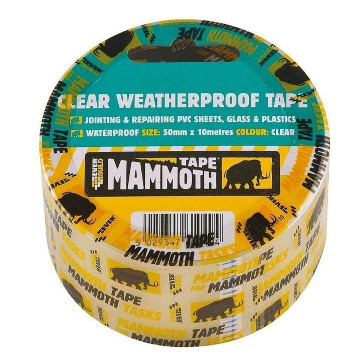 Everbuild Clear Weatherproof Tape - HomeFix