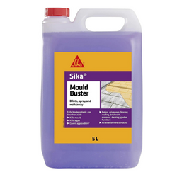 Sika Mould Buster is a powerful, fast-acting solution for removing algae, mould and green growth.
