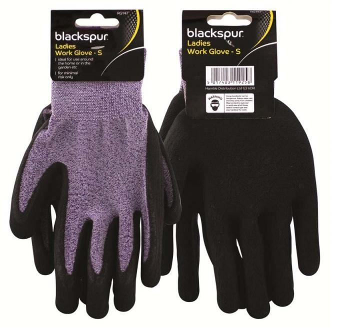 Blackspur Ladies Work Gloves - HomeFix