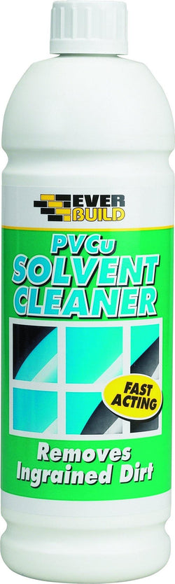Everbuild PVCu Solvent Cleaner - HomeFix
