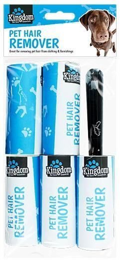 Kingdom Pet Hair Roller & Refills - HomeFix