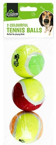 Kingdom Pet Tennis Balls - HomeFix