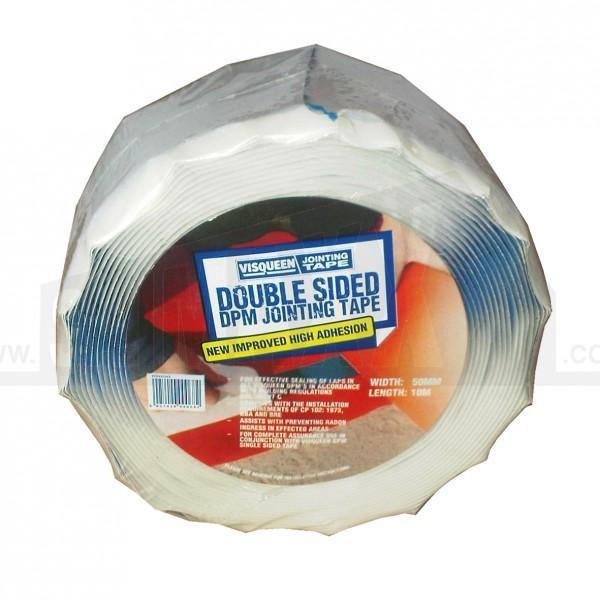 Visqueen Pro Double Sided DPM Jointing Tape - HomeFix