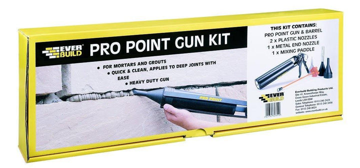 mortar and grout pro point gun kit