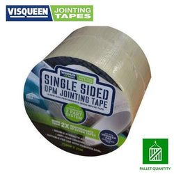 Visqueen Pro Single Sided DPM Jointing Tape - HomeFix