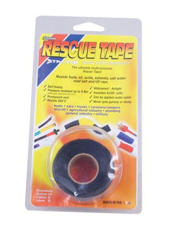silicone rescue tape in black