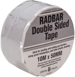 Radbar Double Sided Jointing Tape 50mm x  10m - HomeFix