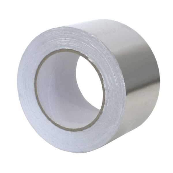 Radbar Single Sided Foil Overlap Tape (75mm x 50m) - HomeFix