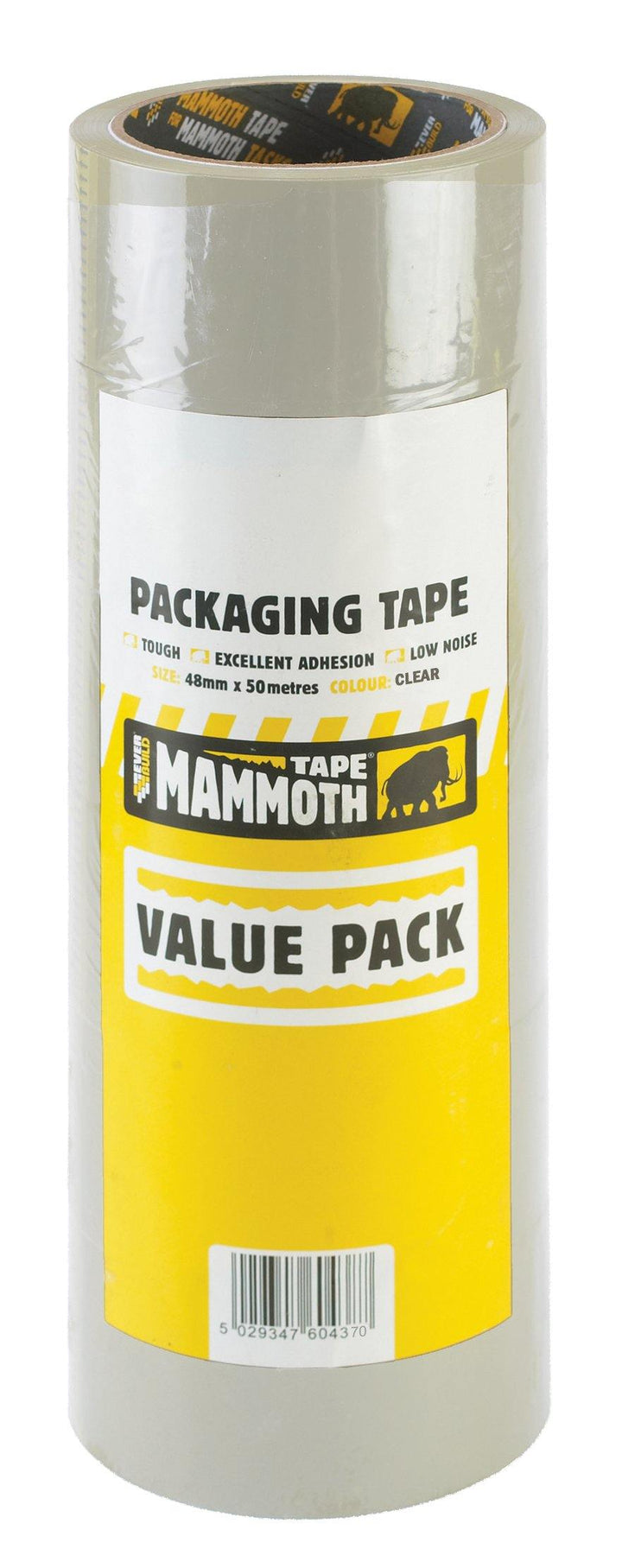 Everbuild Mammoth Value Pack Packaging Tape - HomeFix