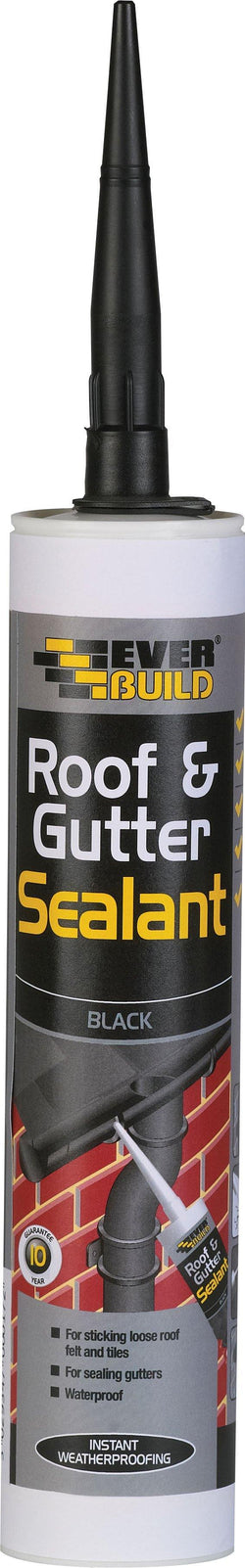 Everbuild Roof & Gutter Sealant - HomeFix