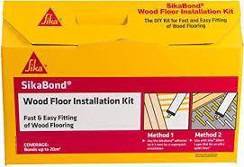 Sika SikaBond Wood Floor Installation Kit - HomeFix