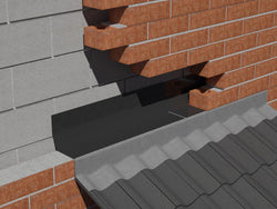 Horizontal Perimeter Cavity Tray (225mm Rise / 2.5m) - HomeFix