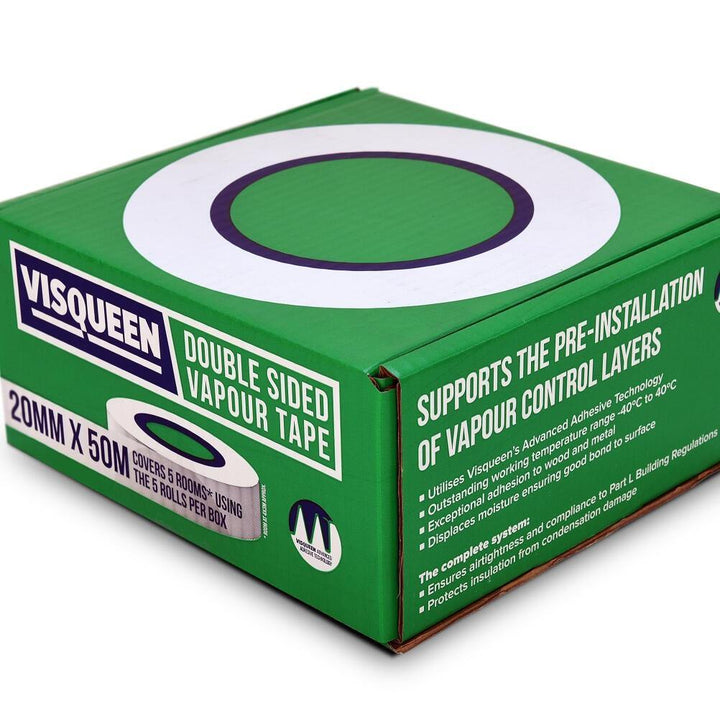 Visqueen Double Sided Vapour Tape - HomeFix