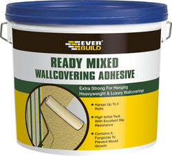 Everbuild Ready Mixed Wallcovering Adhesive - HomeFix