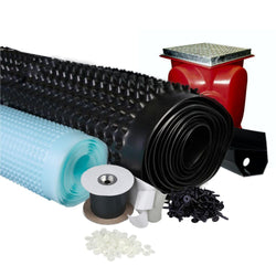 Full Basement Waterproofing Systems (Multi Sizes Available) - HomeFix
