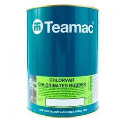 Teamac Chlorvar Chlorinated Rubber Swimming Pool Paint - HomeFix