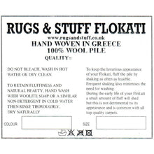 Load image into Gallery viewer, Shaggy Flokati Rugs in Natural Wool 1500gsm