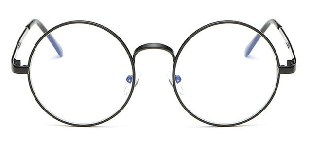 Metal Round Anti Blue Light Glasses Frame